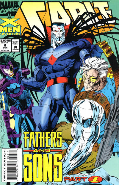 Cover for Cable (Marvel, 1993 series) #6 [Direct Edition]