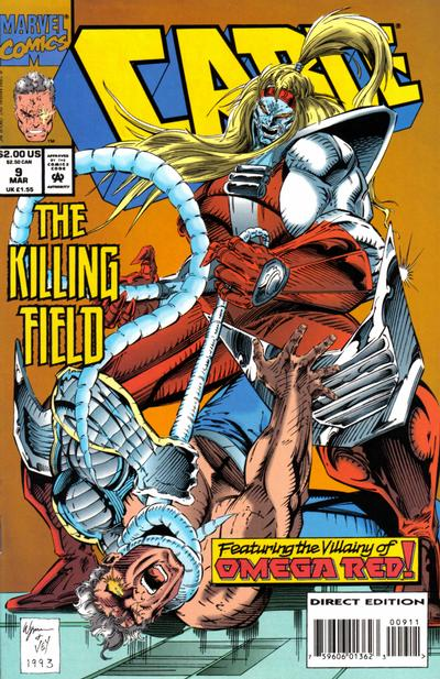 Cover for Cable (Marvel, 1993 series) #9 [Direct Edition]