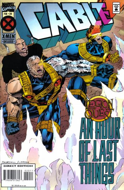 Cover for Cable (Marvel, 1993 series) #20 [Deluxe Direct Edition]
