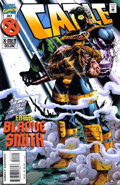 Cover for Cable (Marvel, 1993 series) #21 [Regular Newsstand Edition]