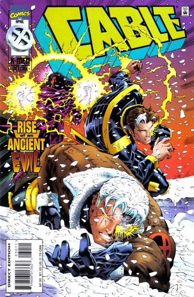 Cover for Cable (Marvel, 1993 series) #30 [Direct Edition]