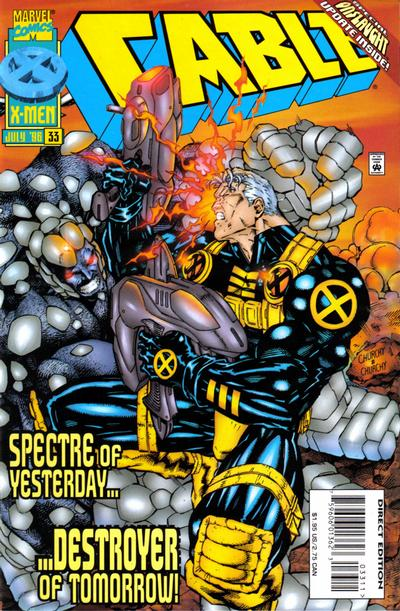 Cover for Cable (Marvel, 1993 series) #33 [Direct Edition]