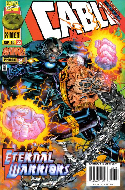 Cover for Cable (Marvel, 1993 series) #35 [Direct Edition]