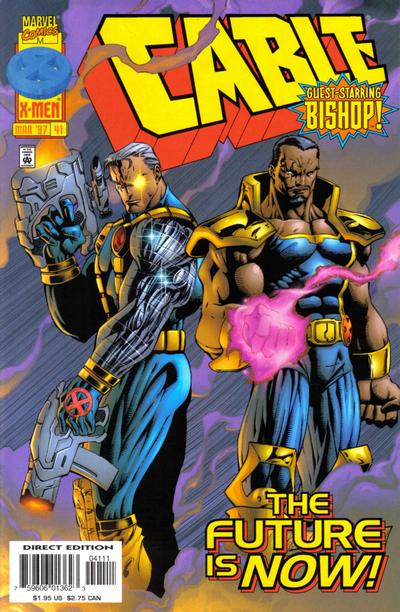 Cover for Cable (Marvel, 1993 series) #41 [Direct Edition]