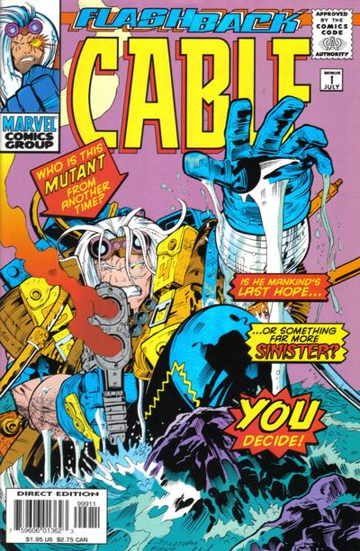 Cover for Cable (Marvel, 1993 series) #-1
