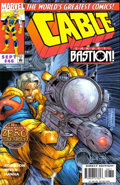 Cover for Cable (Marvel, 1993 series) #46 [Direct Edition]