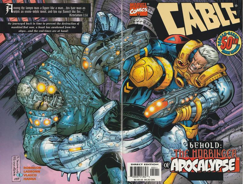Cover for Cable (Marvel, 1993 series) #50 [Direct Edition]