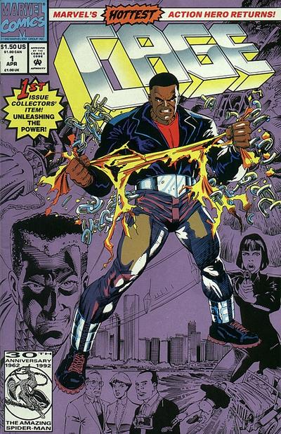Cover for Cage (Marvel, 1992 series) #1 [Direct]