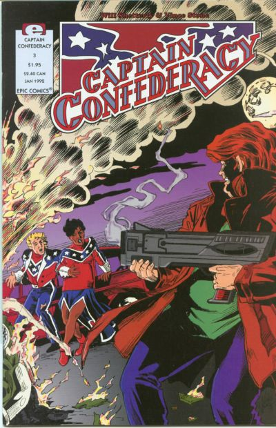 Cover for Captain Confederacy (Marvel, 1991 series) #3