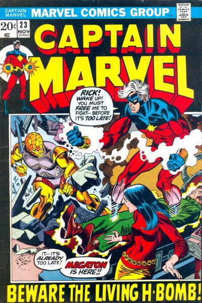 Cover for Captain Marvel (Marvel, 1968 series) #23