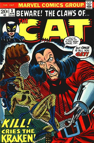 Cover for The Cat (Marvel, 1972 series) #3