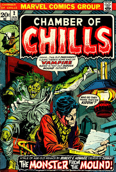 Cover for Chamber of Chills (Marvel, 1972 series) #2