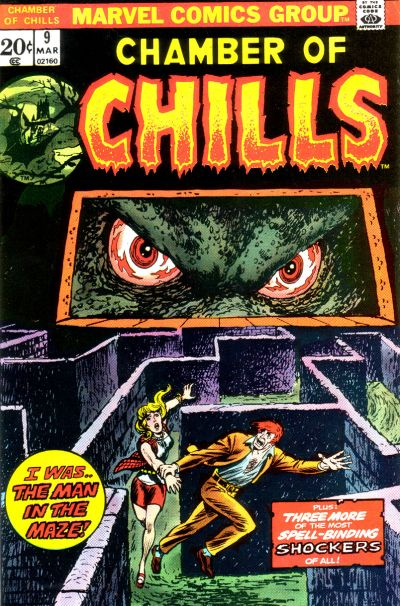 Cover for Chamber of Chills (Marvel, 1972 series) #9