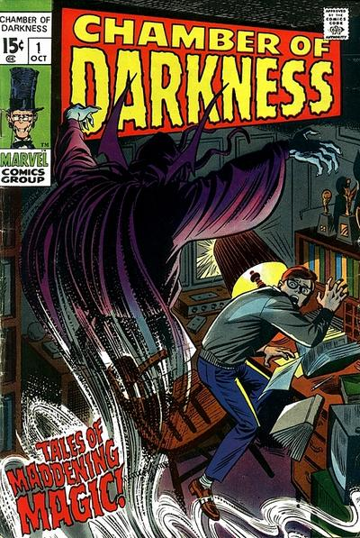 Cover for Chamber of Darkness (Marvel, 1969 series) #1