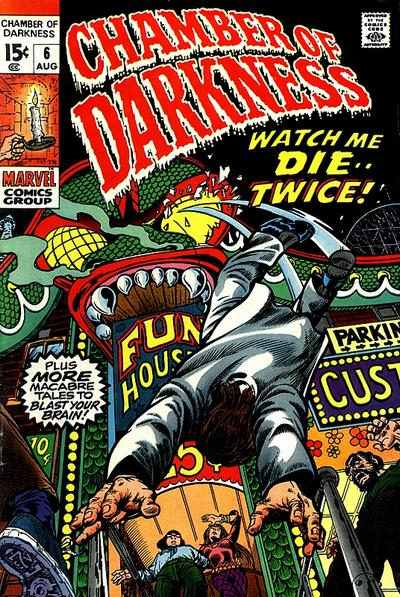 Cover for Chamber of Darkness (Marvel, 1969 series) #6