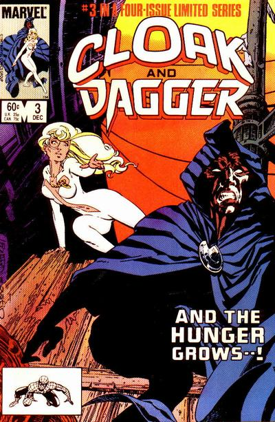 Cover for Cloak and Dagger (Marvel, 1983 series) #3 [Newsstand Edition]