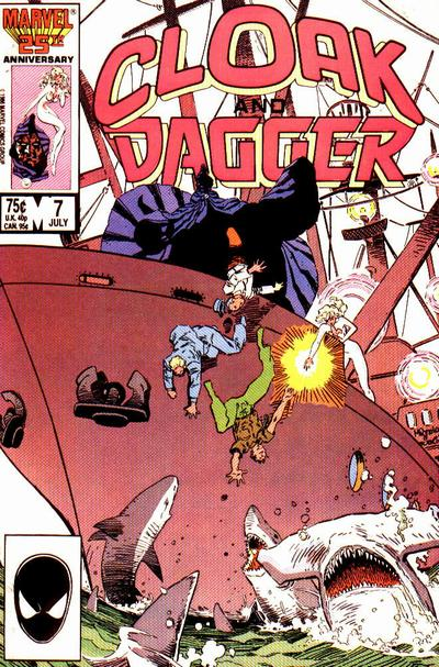 Cover for Cloak and Dagger (Marvel, 1985 series) #7 [Newsstand Edition]