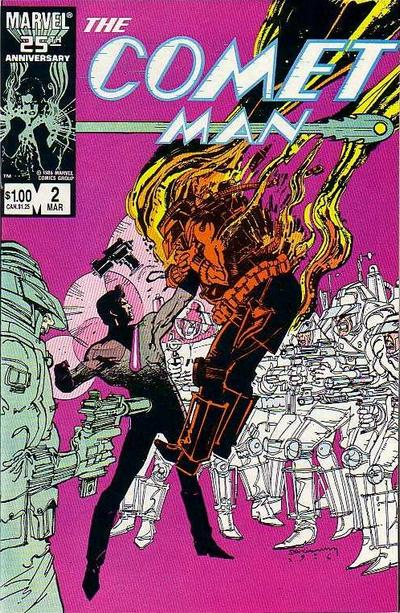 Cover for Comet Man (Marvel, 1987 series) #2