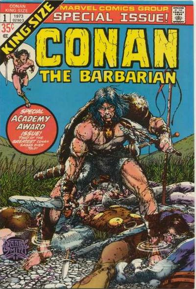 Cover for Conan Annual (Marvel, 1973 series) #1