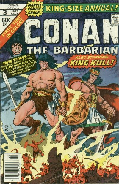 Cover for Conan Annual (Marvel, 1973 series) #3