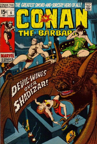 Cover for Conan the Barbarian (Marvel, 1970 series) #6