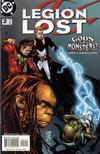 Cover for Legion Lost (DC, 2000 series) #2