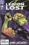 Cover for Legion Lost (DC, 2000 series) #5