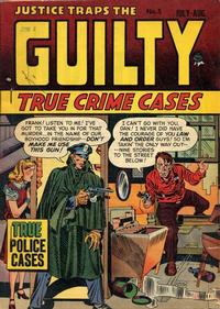 Cover Thumbnail for Justice Traps the Guilty (Prize, 1947 series) #v1#5 (5)