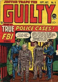 Cover Thumbnail for Justice Traps the Guilty (Prize, 1947 series) #v1#6 (6)