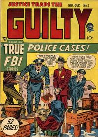 Cover Thumbnail for Justice Traps the Guilty (Prize, 1947 series) #v2#1 (7)