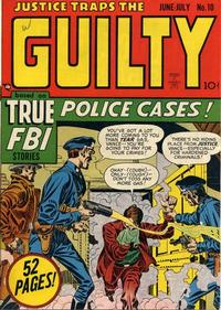 Cover Thumbnail for Justice Traps the Guilty (Prize, 1947 series) #v2#4 (10)