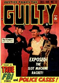 Cover Thumbnail for Justice Traps the Guilty (Prize, 1947 series) #v3#1 (13)