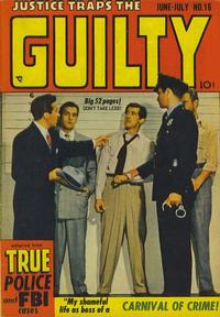 Cover Thumbnail for Justice Traps the Guilty (Prize, 1947 series) #v3#4 (16)