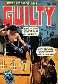 Cover Thumbnail for Justice Traps the Guilty (Prize, 1947 series) #v3#5 (17)