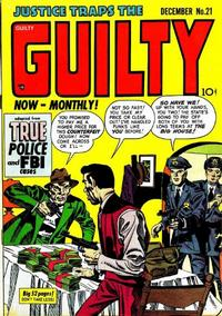 Cover Thumbnail for Justice Traps the Guilty (Prize, 1947 series) #v4#3 (21)