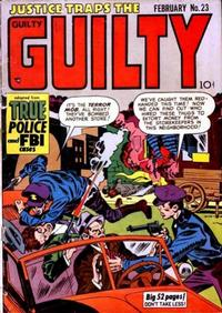 Cover Thumbnail for Justice Traps the Guilty (Prize, 1947 series) #v4#5 (23)
