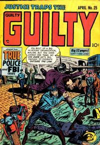Cover Thumbnail for Justice Traps the Guilty (Prize, 1947 series) #v4#7 (25)