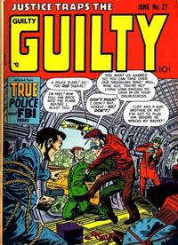 Cover Thumbnail for Justice Traps the Guilty (Prize, 1947 series) #v4#9 (27)
