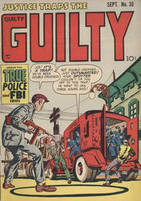 Cover Thumbnail for Justice Traps the Guilty (Prize, 1947 series) #v4#12 (30)