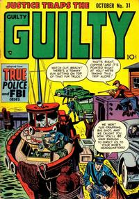 Cover Thumbnail for Justice Traps the Guilty (Prize, 1947 series) #v5#1 (31)