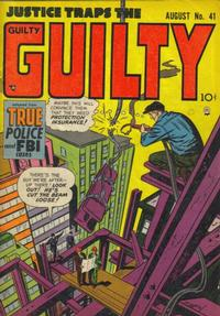 Cover Thumbnail for Justice Traps the Guilty (Prize, 1947 series) #v5#11 (41)