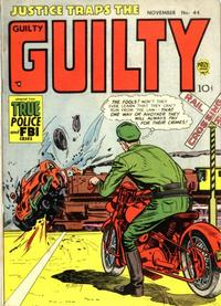 Cover for Justice Traps the Guilty (Prize, 1947 series) #v6#2 (44)