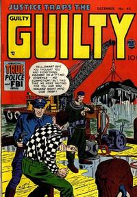 Cover Thumbnail for Justice Traps the Guilty (Prize, 1947 series) #v6#3 (45)