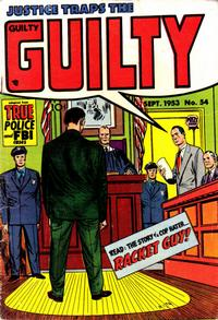 Cover for Justice Traps the Guilty (Prize, 1947 series) #v6#12 (54)