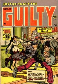 Cover Thumbnail for Justice Traps the Guilty (Prize, 1947 series) #v7#5 (60)