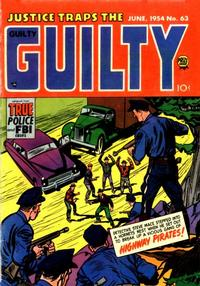Cover Thumbnail for Justice Traps the Guilty (Prize, 1947 series) #v7#9 (63)
