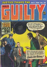 Cover Thumbnail for Justice Traps the Guilty (Prize, 1947 series) #v7#10 (64)