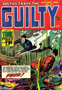 Cover Thumbnail for Justice Traps the Guilty (Prize, 1947 series) #v8#1 (67)