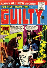 Cover for Justice Traps the Guilty (Prize, 1947 series) #v8#6 (72)