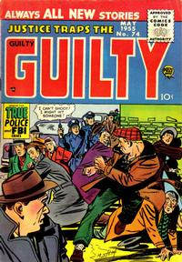 Cover Thumbnail for Justice Traps the Guilty (Prize, 1947 series) #v8#8 (74)